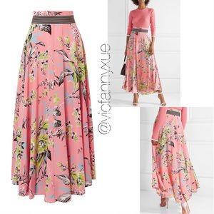 🆕 Diane Von Furstenburg  DVF floral silk skirt 00